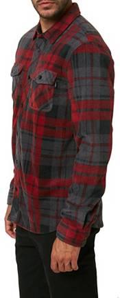 O'Neill Men's Glacier Plaid Superfleece Flannel Shirt product image