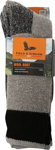 Field & Stream Heavyweight Wool Crew Socks - 2 Pack product image