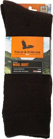 Field & Stream Men's Thermolite Wool Heavyweight Over the Calf Socks product image