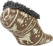 Field & Stream Men's Cabin Moose Stripe Slipper Socks product image
