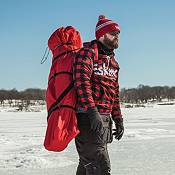 Eskimo FatFish Insulated Pop-up Portable 4-Person Ice Fishing Shelter product image