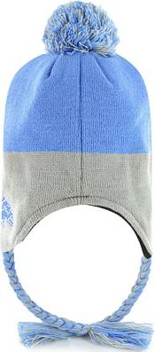 47 Youth Detroit Lions Hammerhead Blue Knit Trapper Hat product image