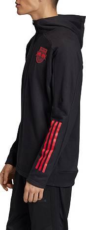 adidas Men's New York Red Bulls Travel Black Quarter-Zip product image
