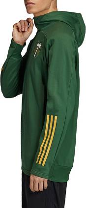 adidas Men's Portland Timbers Travel Green Quarter-Zip product image