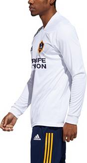 adidas Men's Los Angeles Galaxy '20-'21 Pirimary Replica Long Sleeve Jersey product image
