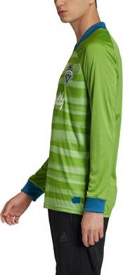 adidas Men's Seattle Sounders '21-'22 Primary Long Sleeve Replica Jersey product image