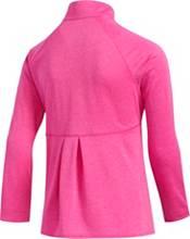 adidas Girls' Heathered Full-Zip Golf Jacket product image