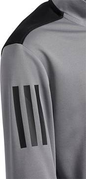adidas Boys' Three-Stripe Half-Zip Golf Pullover product image