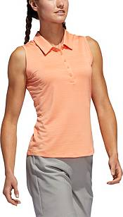 adidas Women's Microdot Sleeveless Golf Polo product image