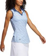 adidas Women's Ultimate Printed Sleeveless Golf Polo product image