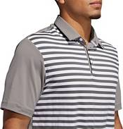 adidas Men's Ultimate365 3-Color Stripe Golf Polo product image