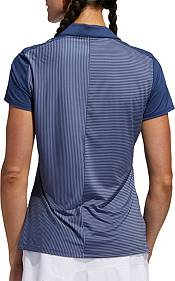 adidas Women's Striped Short Sleeve Golf Polo product image