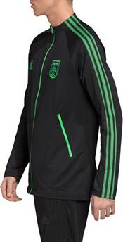 adidas Men's Austin FC Anthem Black Full-Zip Jacket product image