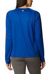 Columbia Women's Florida Gators Blue Tidal Long Sleeve T-Shirt product image
