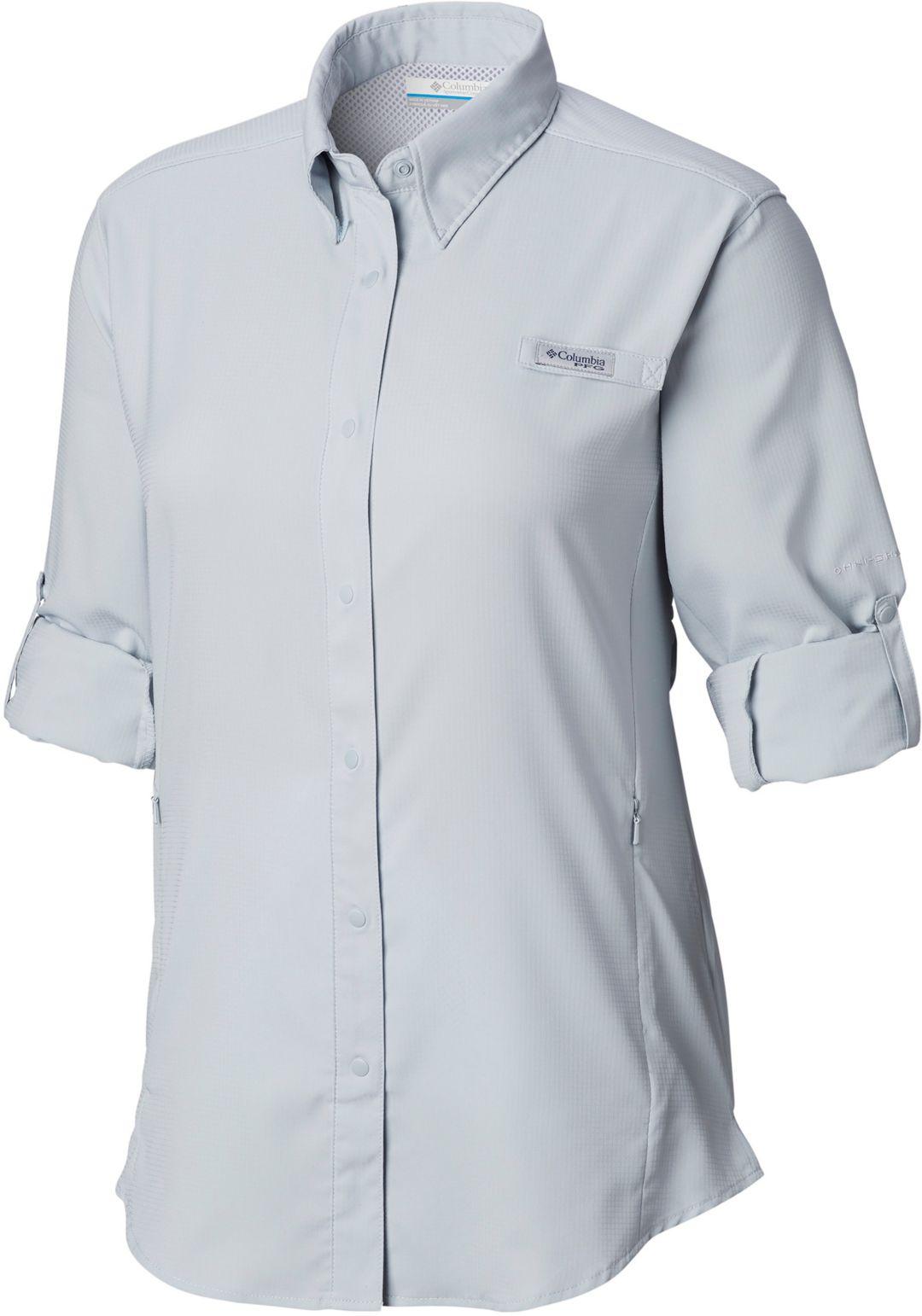 28784f0563 Columbia Women's PFG Tamiami II Long Sleeve Shirt