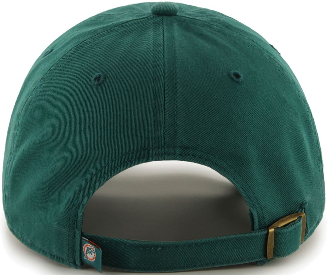 promo code 373e7 e0048 '47 Men's Miami Dolphins Legacy Clean Up Aqua Adjustable Hat
