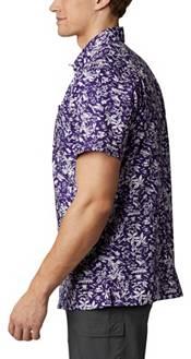 Columbia Men's Washington Huskies Purple Slack Tide Button-Down Shirt product image