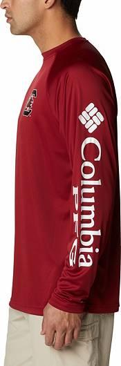 Columbia Men's South Carolina Gamecocks Garnet Terminal Tackle Long Sleeve T-Shirt product image