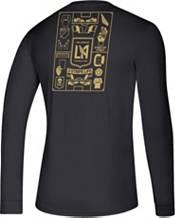 adidas Men's Los Angeles FC Iconic Black Long Sleeve Shirt product image