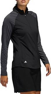adidas Women's Solid UV Long Sleeve Golf Polo product image