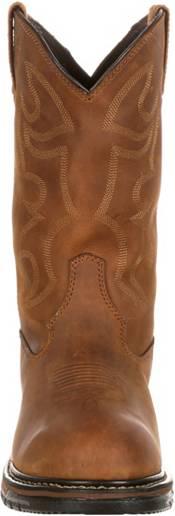 "Rocky Men's Original Ride Branson Roper 11"" Waterproof Western Work Boots product image"