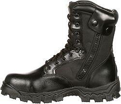 6674da0f8b3 Rocky Men's AlphaForce Zipper 8'' Waterproof Composite Toe Work Boots