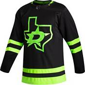 adidas Men's Dallas Stars Authentic Pro Alternate Black Blank Jersey product image