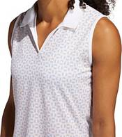 adidas Women's Ultimate 365 Printed Sleeveless Golf Polo product image