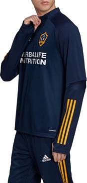 adidas Men's Los Angeles Galaxy Navy Training Quarter-Zip product image