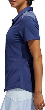 adidas Women's Ultimate 365 Heathered Short Sleeve Golf Polo product image