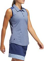 adidas Women's Ultimate 365 Heathered Sleeveless Golf Polo product image
