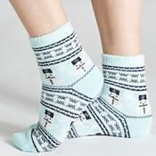 Field & Stream Women's Cozy Cabin Snowman Nordic Socks product image