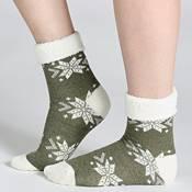 Field & Stream Cozy Cabin Snowflake Fold Socks product image