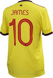 adidas Men's Colombia '21-'22 James Rodriguez #10 Home Replica Jersey product image