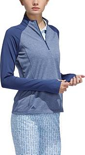 adidas Women's ½ Zip Heather Layer Golf Long Sleeve Pullover product image