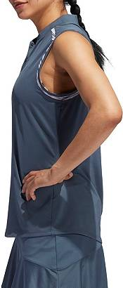 adidas Women's Ultimate365 Printed Sleeveless Golf Polo product image