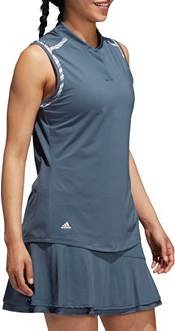 adidas Women's Ultimate365 Printed Sleeveless Golf Polo product image