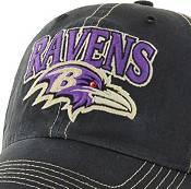 '47 Men's Baltimore Ravens Vintage Tuscaloosa Black Adjustable Hat product image