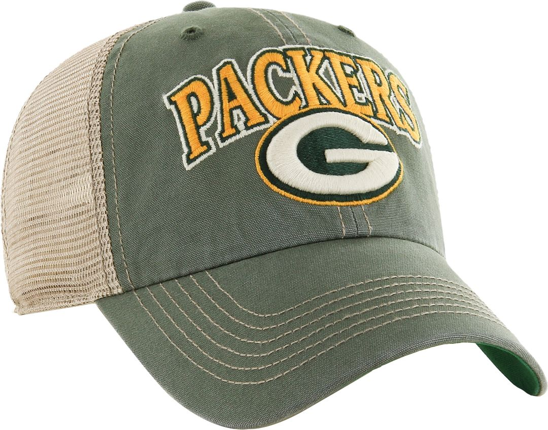 57e1550b '47 Men's Green Bay Packers Vintage Tuscaloosa Green Adjustable Hat