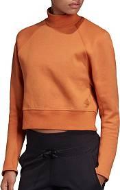 adidas Women's City Mock Neck Sweatshirt product image