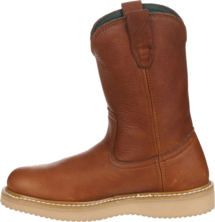66ed55c4bd3d Georgia Boot Men's Farm & Ranch Wellington Work Boots