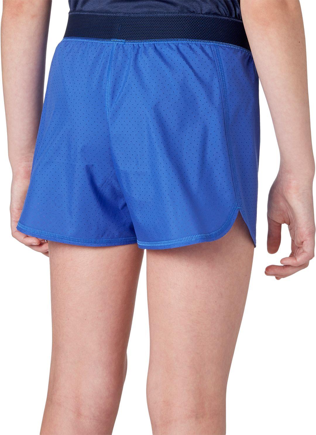 b6437712 Reebok Girls' Perforated Running Shorts