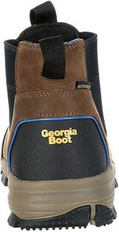 Georgia Boot Men's Blue Collar Chelsea Romeo Waterproof Work Boots product image