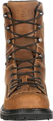 Georgia Boot Men's ComfortCore Low Heel Logger EH Waterproof Work Boots product image
