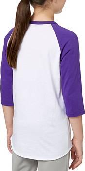 adidas Girls' Hit Steal Slide ¾ Sleeve Softball Shirt product image