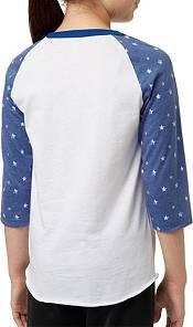 adidas Girls' Destiny ¾ Sleeve Printed Softball Graphic Shirt product image