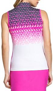 Tail Women's Cindy Cube Sleeveless Golf Polo product image