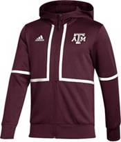 adidas Men's Texas A&M Aggies Maroon Under the Lights Full-Zip Jacket product image
