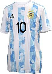 adidas Men's Argentina '21-'22 Lionel Messi #10 Home Replica Jersey product image