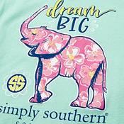 Simply Southern Girls' Short Sleeve Elephant T-Shirt product image